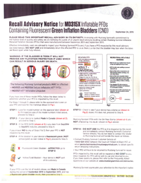 Mustang Survival Recall Advisory 1 001